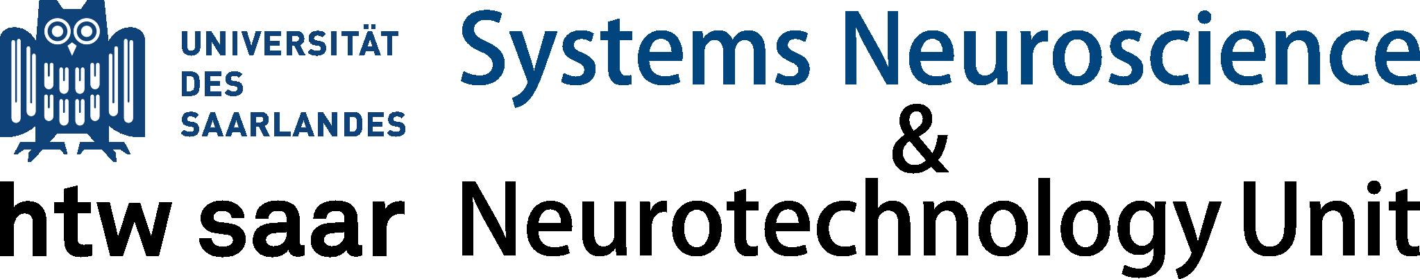 Systems Neuroscience & Neurotechnology Unit